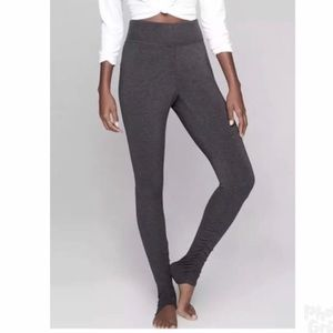 *ATHLETA* Restore Slim Ruched Gray Pant Leggings